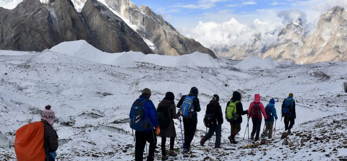 how to trek to k2 base camp?